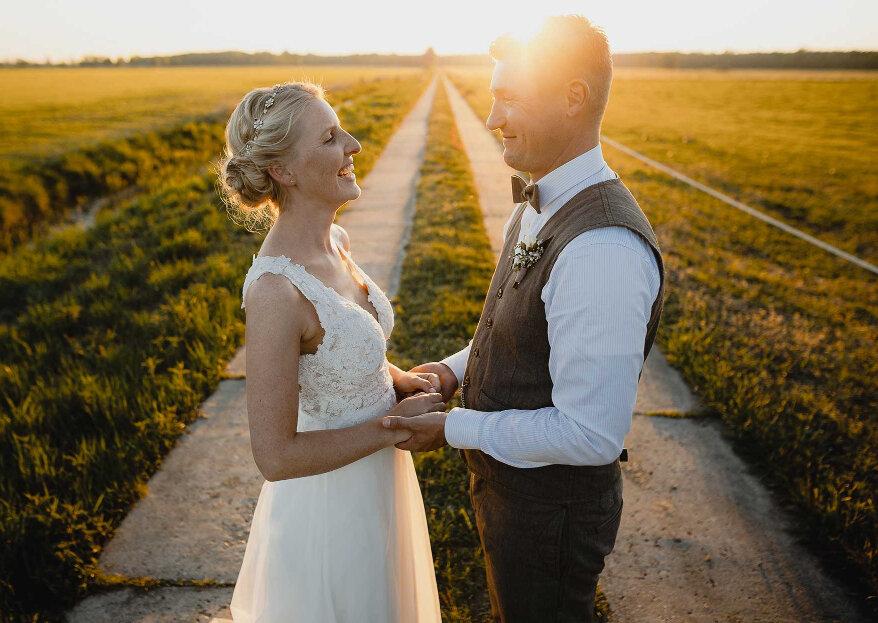 Eine Hochzeit von Freunden für Freunde: Die Scheunenhochzeit von Sandra & Benni