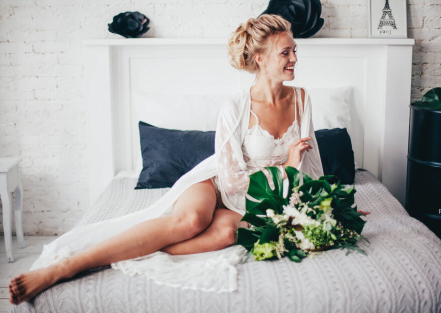 ¿Cómo elegir la mejor lencería para novia? ¡Comodidad, elegancia y sensualidad!