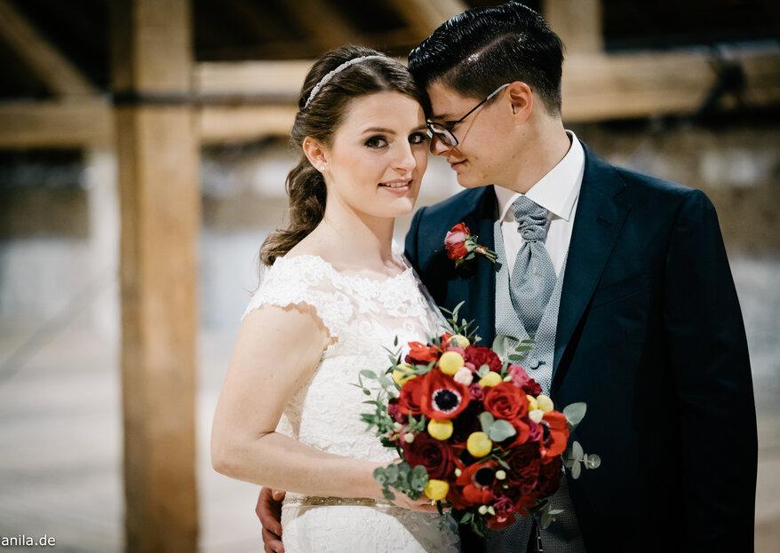 Romantik pur bei der spanischen Mottohochzeit von Eva und Albert in München
