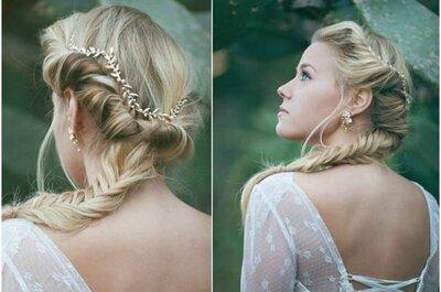 Seleção de penteados de noiva mais incríveis para todos os estilos