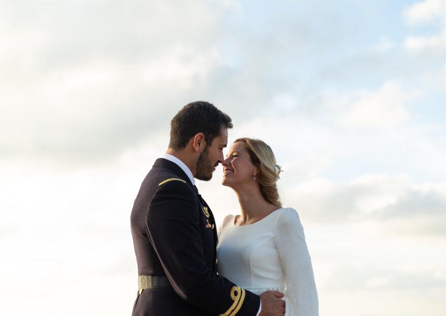 Nuestro mejor atardecer: la boda de Aurora y Fernando