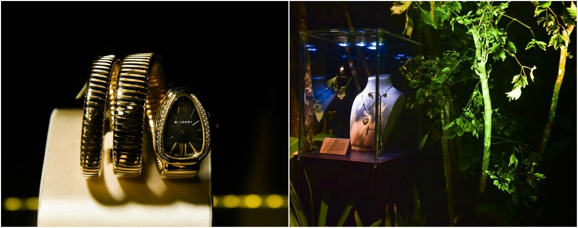 Espectacular presentación de BVLGARI. ¡Descubre los modelos más exclusivos de la colección Serptenti!
