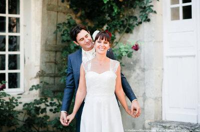 Aurélie et Arnaud : un joli mariage en Charente-Maritime avec une touche des Antilles