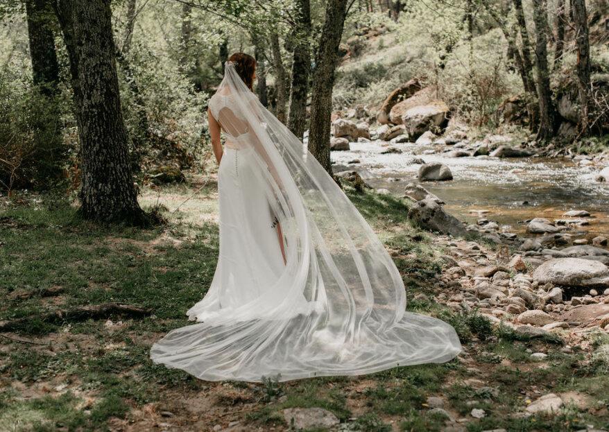 Nubia Acosta: diseños románticos e innovadores para novias
