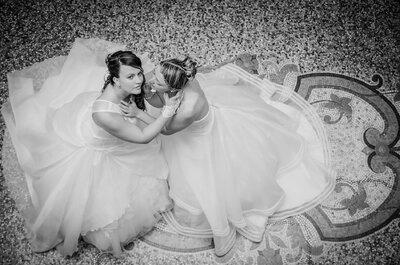 Alexandra et Bertille : deux belles mariées et une fête inoubliable remplie de tendresse