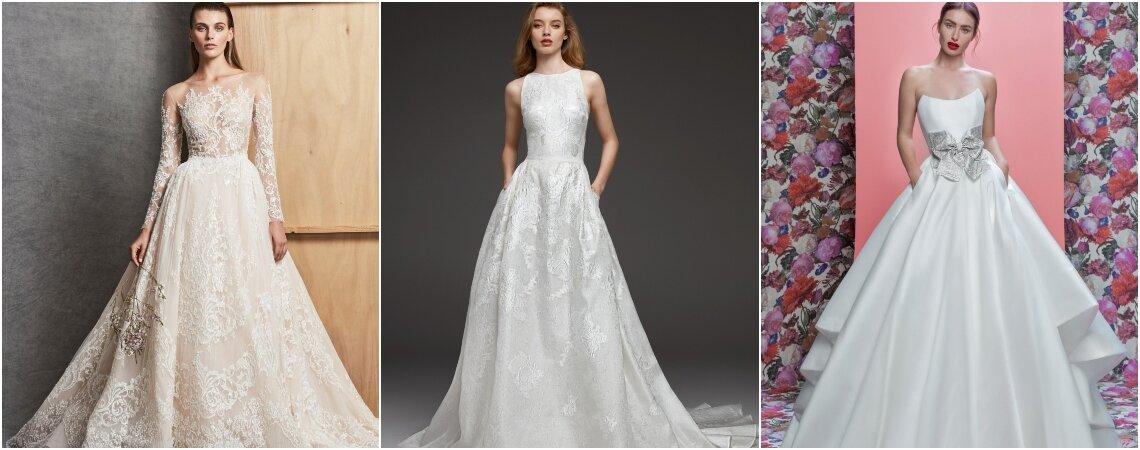 Vestidos de novia corte princesa ¡Los que toda mujer ha soñado para su boda!