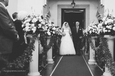 Noivos com pais separados: como fazer a entrada dos noivos no casamento?