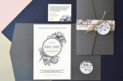 Las 4 características que las invitaciones a tu boda deben cumplir