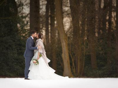 De winterse Real Wedding van Chris en Daphne!