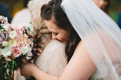 12 Gründe, warum die Braut ihre Mutter braucht: Nicht nur am Hochzeitstag, sondern immer!