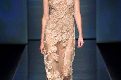 Vestidos para convidadas chiques modernos e elegantes: Alberta Ferretti S/S 2013
