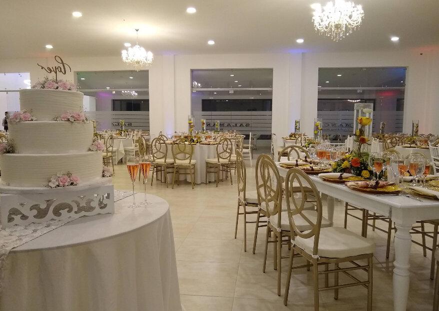 El lugar para una boda memorable, Hacienda Salamanca Wedding House