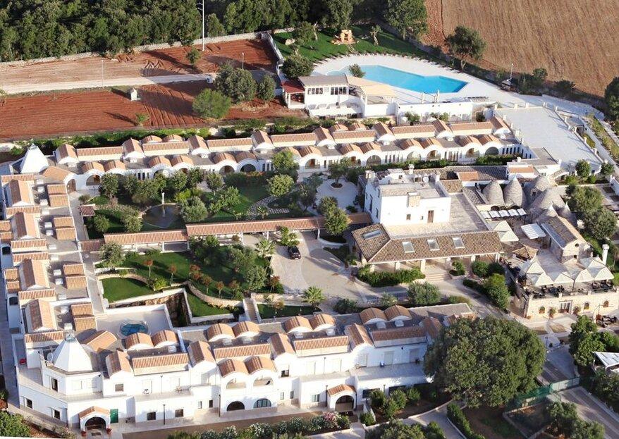 Masseria Chiancone Torricella: una location di nozze poliedrica e dalle mille sfaccettature