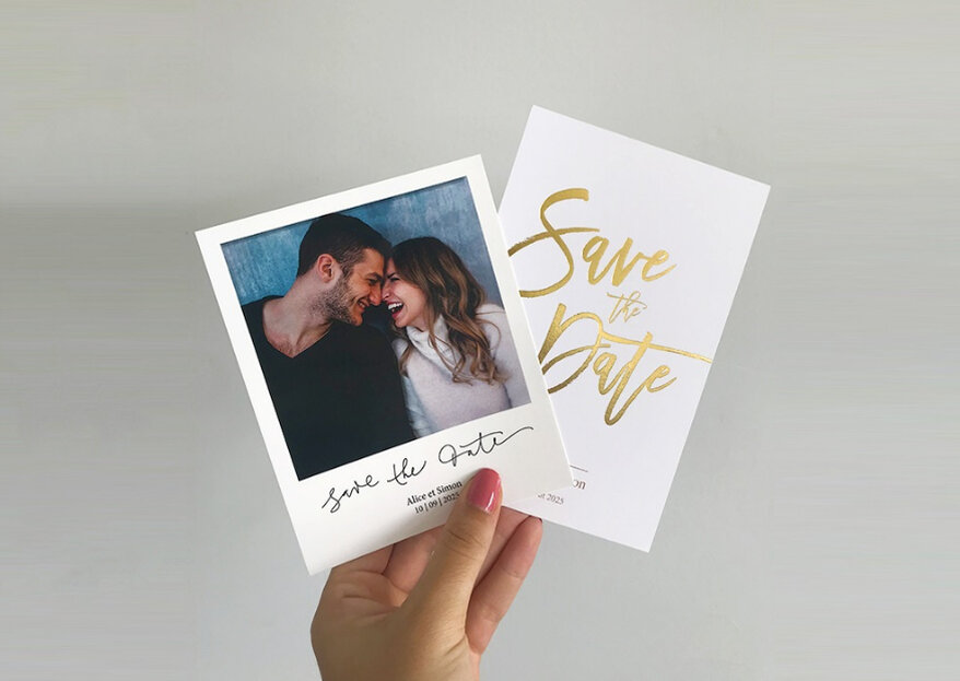 Save the date, faire-part, cartes lunch… : tout pour l'annonce de votre mariage avec Tadaaz