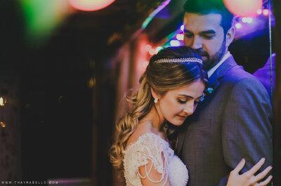 Carol & Paulinho: casamento rústico e despojado com decoração DESLUMBRANTE