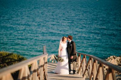 Sonrisas y lágrimas: la boda de Paloma y Pablo
