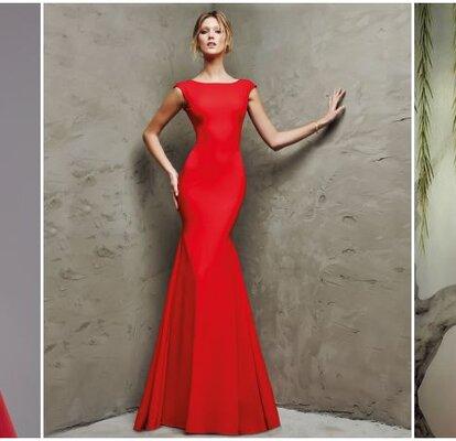 buy popular ec505 ca5ed Abiti da cerimonia rossi: scegli il colore dell'amore per ...