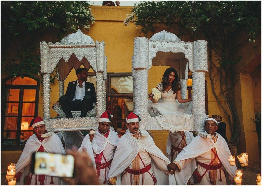 Top 5 des traditions observées lors d'un mariage oriental