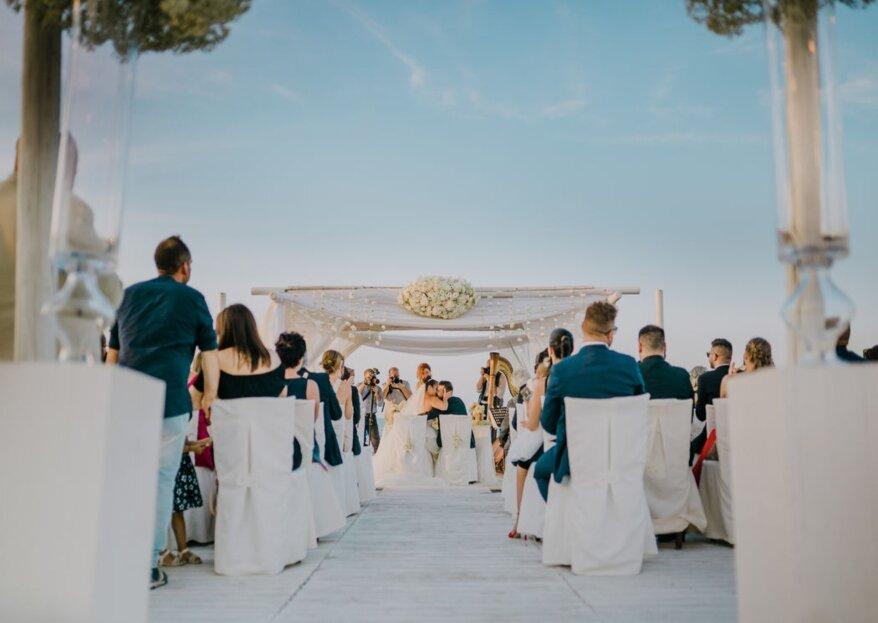 La Porta dei Leoni: il tuo matrimonio con vista sul golfo di Manfredonia