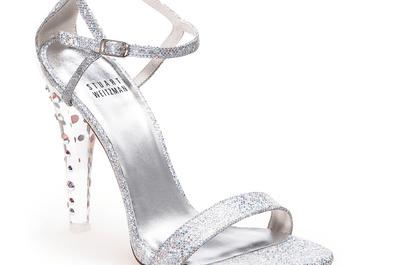 """Encantadoras zapatillas de novia inspiradas en """"La Cenicienta"""""""