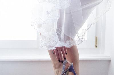 Wie soll er sein, der perfekte Brautschuh? Wir verraten es Ihnen