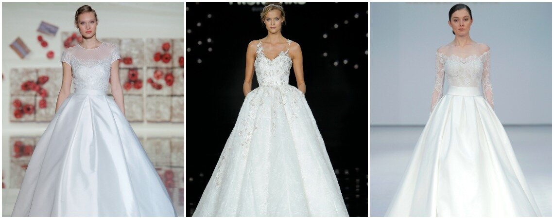 Princess-cut Bridal Gowns for 2017: 60 Extraordinary Designs That Will Wow All Your Guests!
