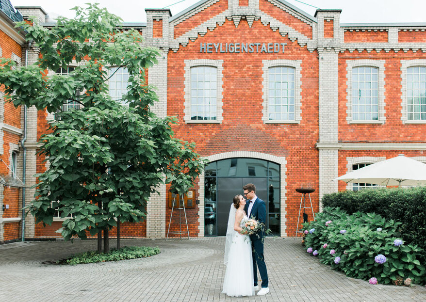 Industriell, charmant & vielfältig: Hochzeiten im HOTEL & RESTAURANT heyligenstaedt