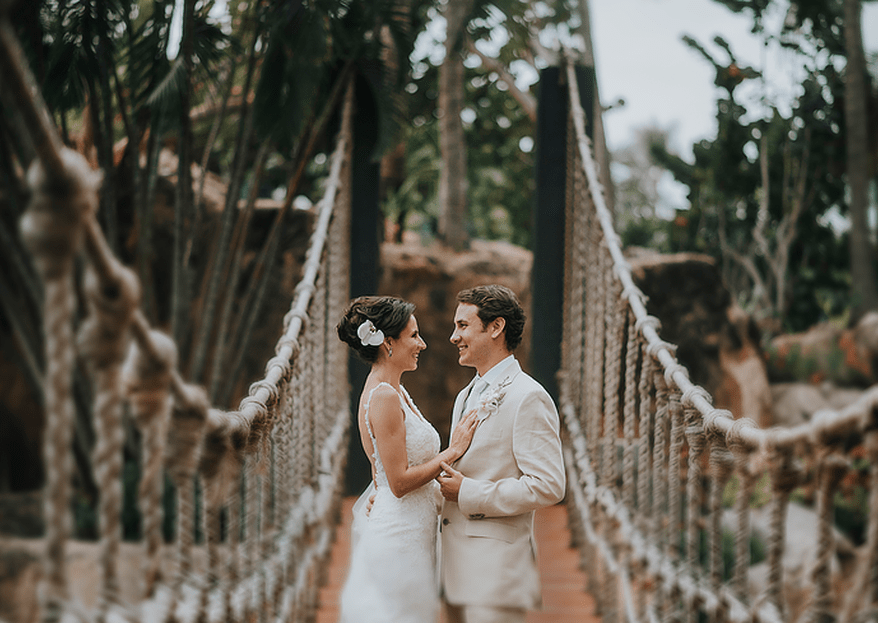 Cómo combinar mi vestido de novia y el traje de novio 7869a81f4241