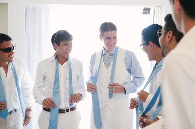 Como escolher o traje dos pais e padrinhos: dicas de Eduardo Guinle