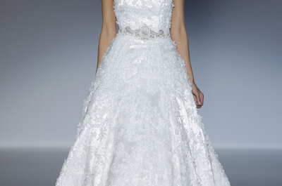 Brautmoden-Kollektion 2014 von Francis Montesinos
