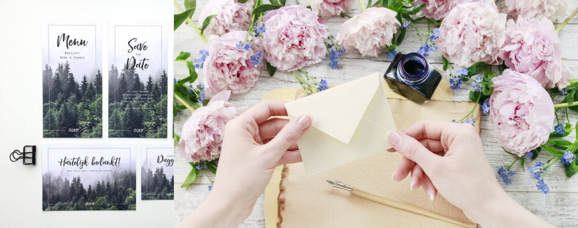 De perfecte bedankkaartjes voor jouw bruiloft maak je zo!