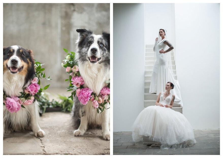 Styled Wedding Shoot: Blushing Vibes