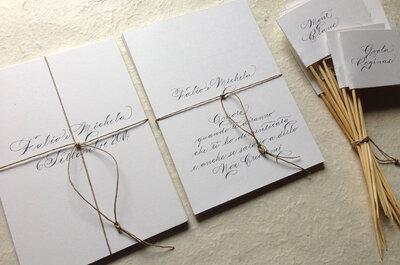 13 idee creative per organizzare un matrimonio da far invidia a Pinterest