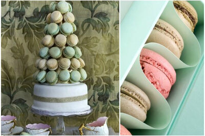 Colourful and chic macaroons for a delicious wedding