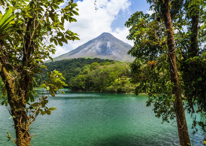 """Luna de miel en Costa Rica, un paraíso de """"pura vida"""" para vivir el amor"""
