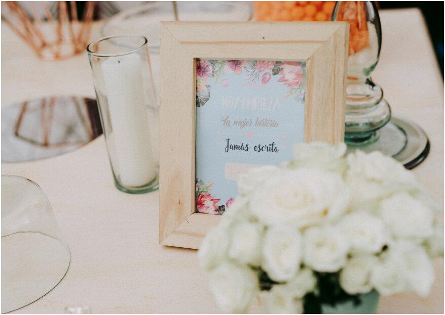 Cómo hacer tú misma los centros de mesa para tu boda: ¡creatividad que enamora!