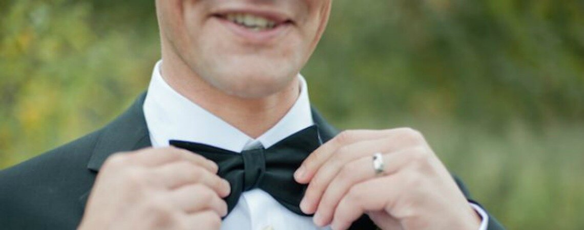 Bow ties for the boys: The perfect touch for a super suave groom!