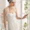 Hochzeits-Kleid: Brautkleid mit langen Ärmeln und Spitze