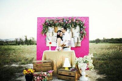 Como decorar seu casamento com rosa PINK: ouse e arrase!