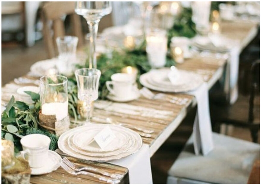 Décoration de mariage en bois, la tendance déco incontournable des mariages champêtre et bohème