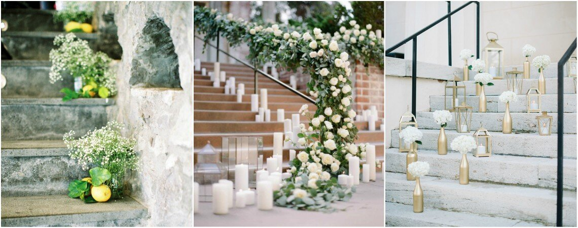 New Wedding Trend Alert: Decor Ideas For Staircases