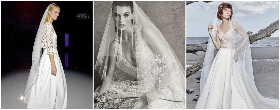 34 Bridal Veils That Will Make You Look Like a Princess
