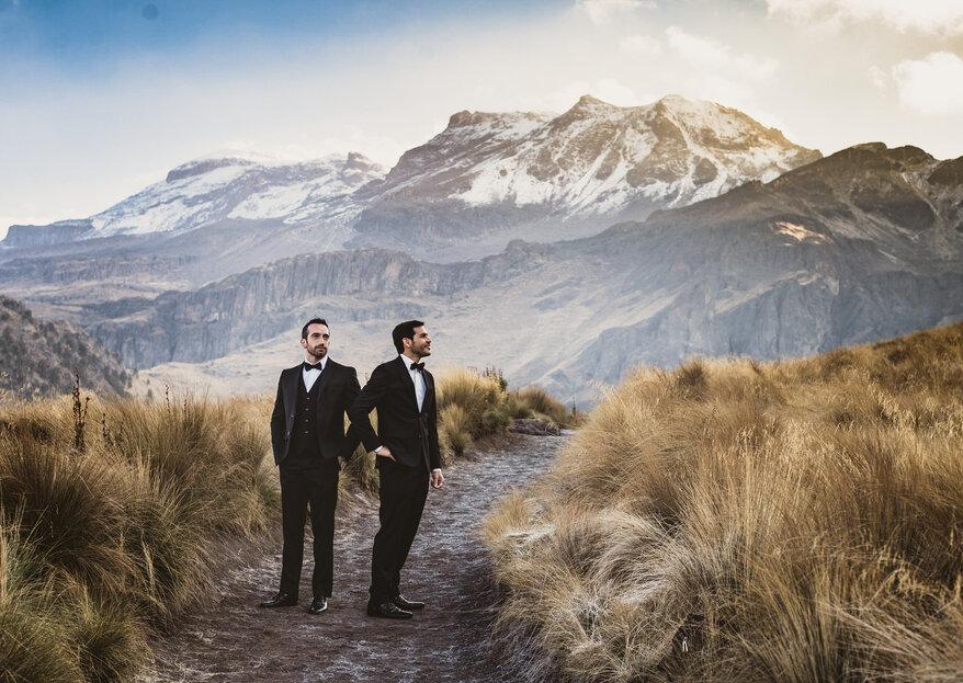 Con el mundo entero bajo nuestros pies: Diego y Manuel