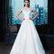 Zauberhaftes Brautkleid im Prinzessinnen-Stil und kurzen Ärmeln
