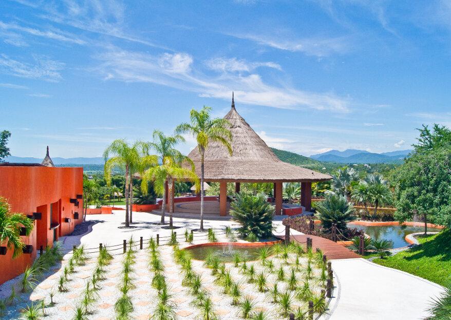 Rojo Azafrán: el jardín de lujo más exclusivo para tu boda