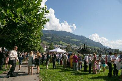 Real Wedding en Suiza: Después de ver estas fotos quedarás enamorado de sus panorámicas hermosas