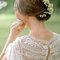 Penteados de noiva apanhados para arrasar em 2018