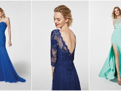 Kies een van deze blauwe feestjurken en maak een onvergetelijke indruk!