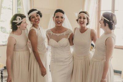 Gli 8 tipo di bianco dell'abito da sposa: sai distinguerli?