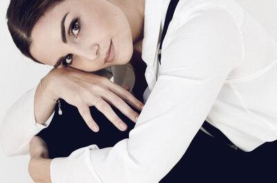 Semplicità e contrasti per il perfetto bridal look 2016: parola di Laura Chiari